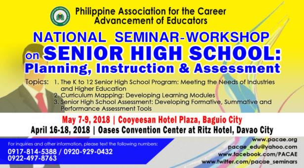 National Seminar-Workshop on Senior High School