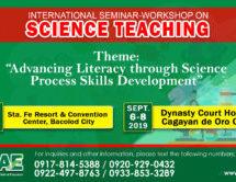 International Seminar-Workshop on Science Teaching